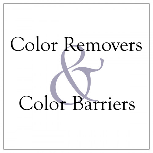 Color Removers and Color Barriers