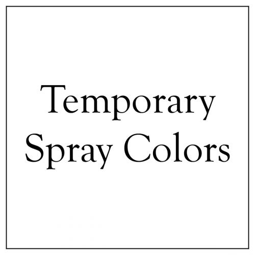 Temporary Spray Colors