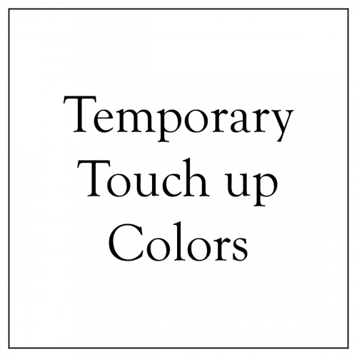 Temporary Touch up Colors