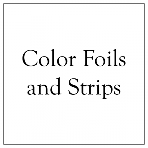 Color Foils and Strips