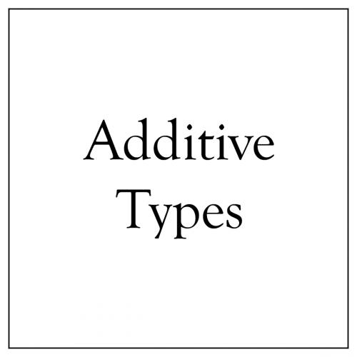 Additive Types