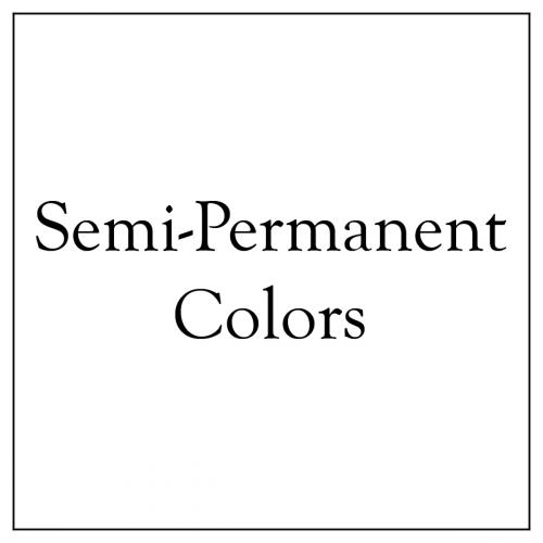 Semi- and Demi-Permanent Colors