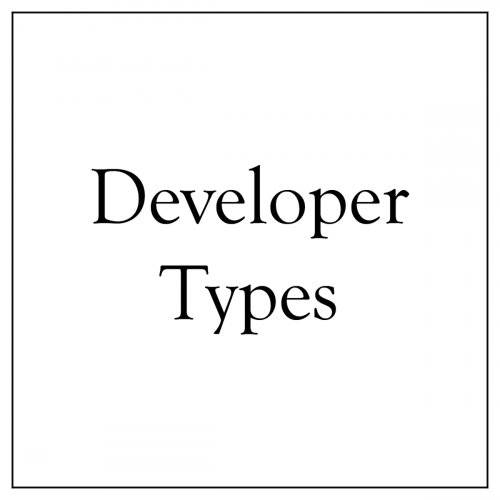 Developer Types