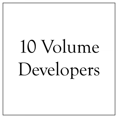 10 Volume Developers