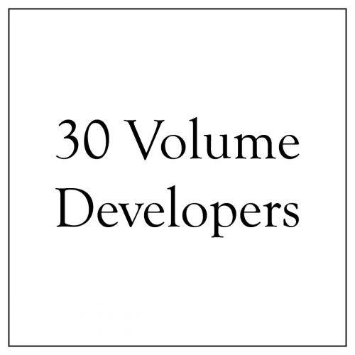 30 Volume Developers