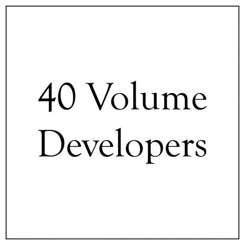 40 Volume Developers
