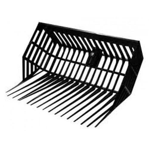 Plastic Basket Fork Head - black