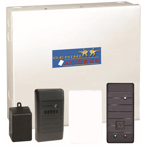 Napco ACM1D Access Control Kit, Gem-H1326 HID Reader, 25 HID Cards,  PCDWINDOWS