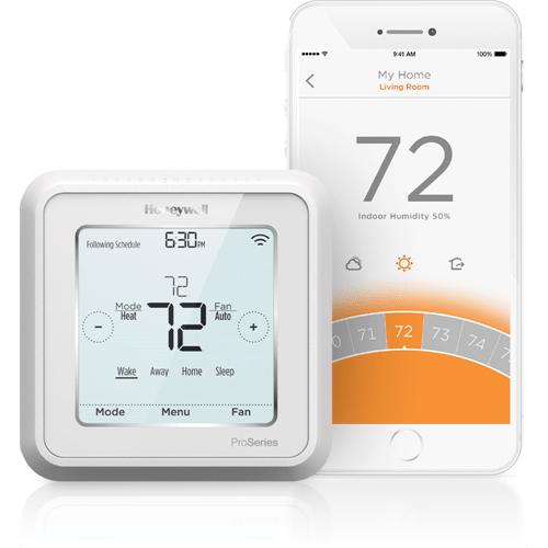 Honeywell Lyric T6 Pro WiFi Thermostat Up to 3 Heat/2 Cool Heat Pump