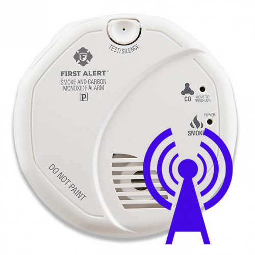 Wireless Smoke & CO Detectors