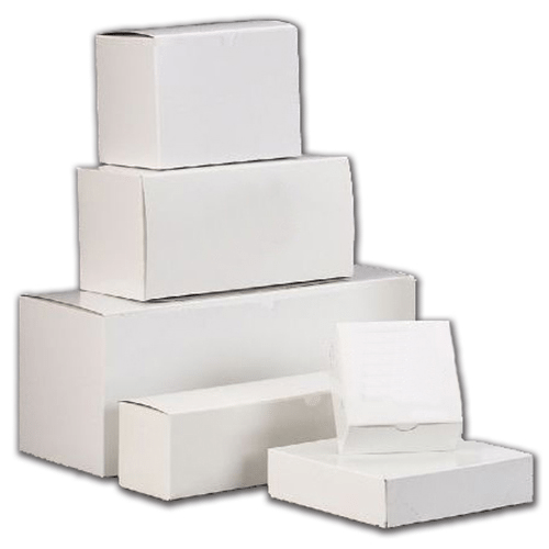Die-Cut White Mailer Boxes
