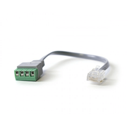 bw-8 easy alarm line seizure connector with rj31x/ca38a jack, grey