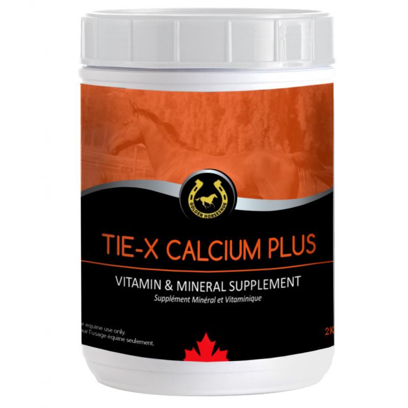Tie-X Calcium Plus (Golden Horseshoe) - 2.27 kg - NN.4MPR   Wecan Sales
