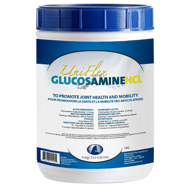 Uni Flex Glucosamine HCL (Strictly Equine) - 1 Kg - NN.X0V6 | Wecan Sales