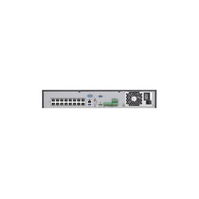 Hikvision 16CH 4K NVR with 16 POE, Up to 12MP, 4TB HDD