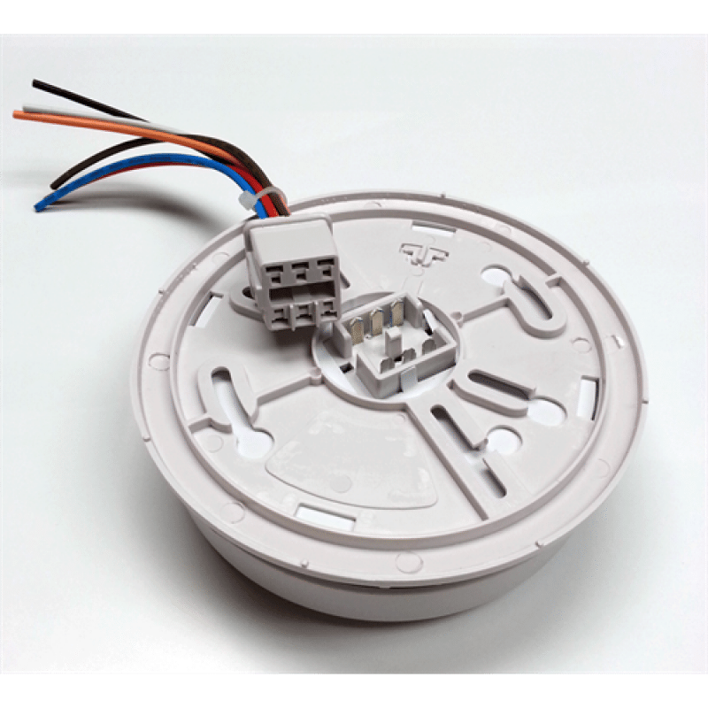 120V Hardwired Ionization Smoke Detector with Relay