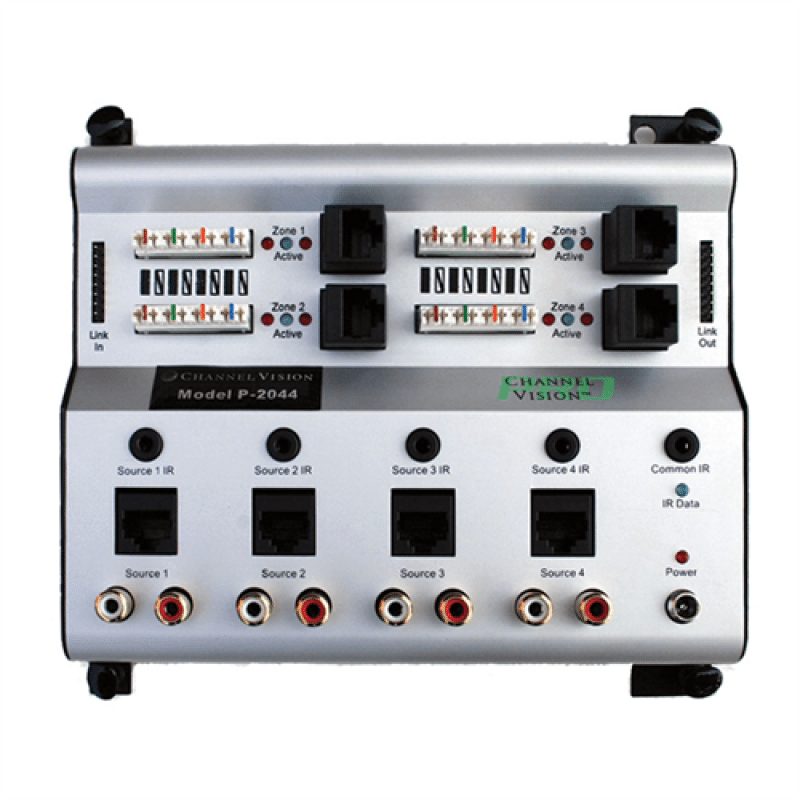 Channel Vision 4-Source x 4-Zone Audio Hub for Channel Vision CAT5 Audio  System