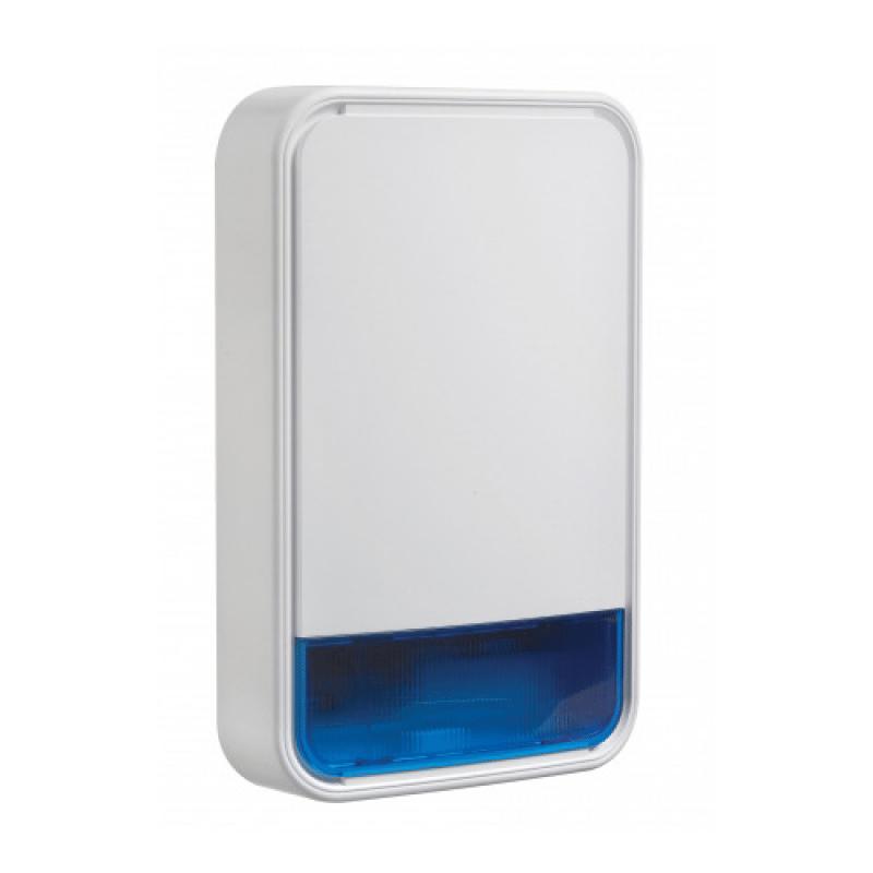 DSC Neo PowerG Wirless Outdoor Siren and Strobe with Battery (PG9911B BATT)