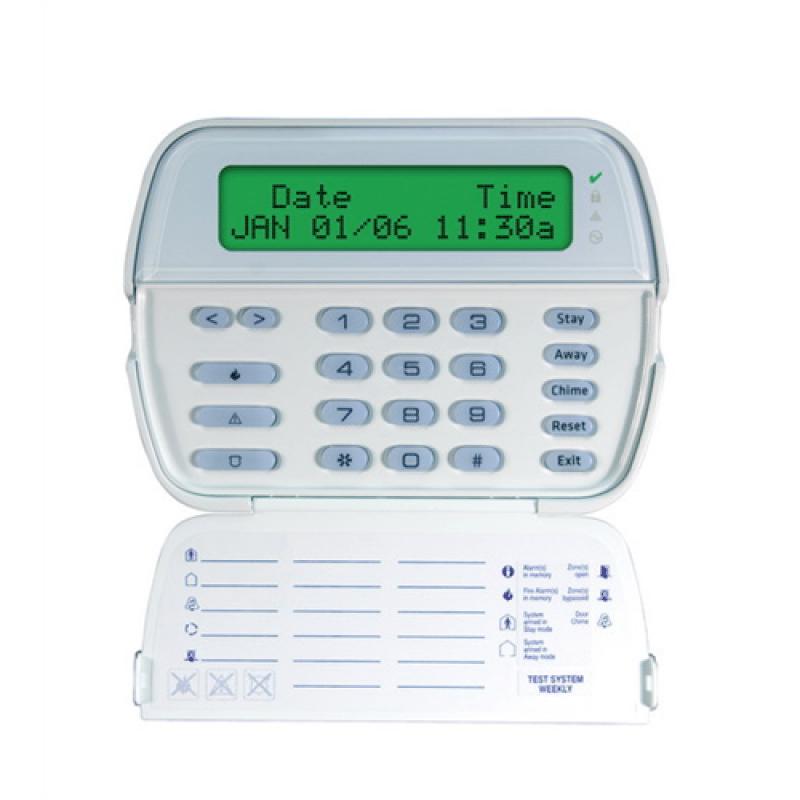 DSC Full Message 64 Zone LCD Keypad English