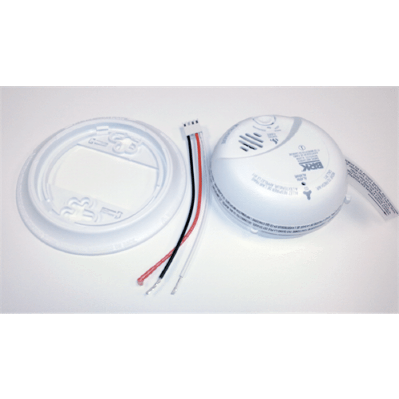 BRK 120VAC Wired Smoke and Carbon Monoxide Detector